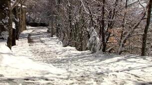 El temporal de nieve y frío vuelve a hacer tiritar a los gallegos