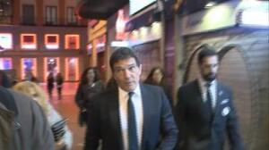 Antonio Banderas recuperado regresa a su ciudad natal