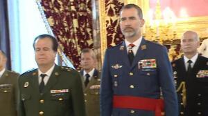 El rey guarda un minuto de silencio en Zarzuela por el atentado de Londres