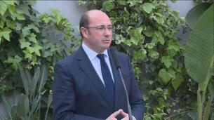 PSOE presenta moción de censura contra Pedro Antonio Sánchez