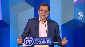 Rajoy ofrece diálogo de todo menos del referédum