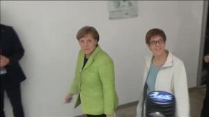 Merkel frena el 'efecto Schulz' en el estado federado de Sarre
