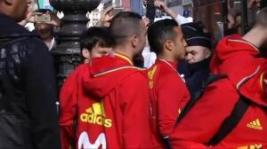 La Roja, preparada para su encuentro ante Francia