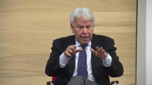 """El expresidente González pide una """"Alemania europea"""""""