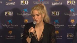 """Shakira mira a Piqué con ojos de """"enamorada"""""""