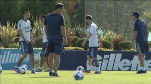 Messi se perderá cuatro partidos con Argentina por insultar a un árbitro