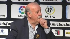 """Del Bosque: """"Nunca entrenaría al Atlético de Madrid ni al Barcelona"""""""