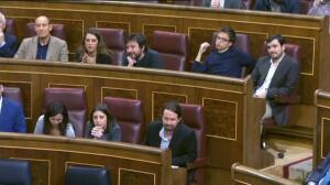 Malestar en el Congreso por las formas de de Podemos
