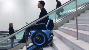 La silla de ruedas del futuro se mueve como un Segway