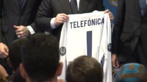 Real Madrid y Telefónica firman un acuerdo de colaboración