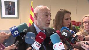 Maza defiende la actuación de la Fiscalía en Cataluña