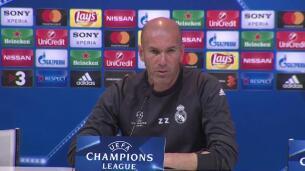 Zidane confirma la baja de Bale ante el Bayern