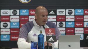 """Zidane: """"El Clásico no es decisivo"""""""