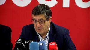 """Patxi López: """"Hay un problema brutal de corrupción en el PP"""""""