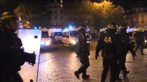 Disturbios en París tras conocerse el resultado de la elecciones