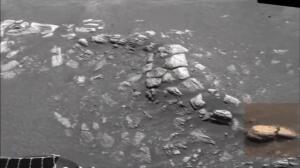 El 'hoyo en uno' del aterrizador Opportunity en Marte