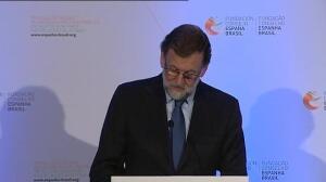 Rajoy destaca la fortaleza de los lazos entre Brasil y España
