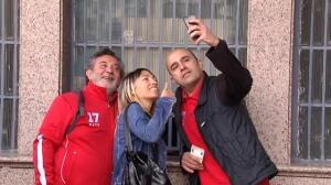 Colas en el Calderón para hacerse con las entradas del partido de ida de la Champions