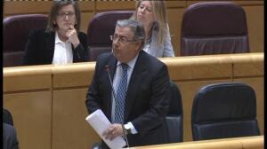 Zoido defiende a su secretario de Estado de Seguridad en el Senado