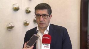"""Patxi López sobre la moción: """"Iglesias es poco serio"""""""