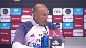 """Zidane: """"No creo que sea injusto con los jugadores"""""""