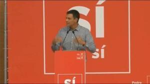 """Pedro Sánchez defiende """"la candidatura de la militancia"""""""