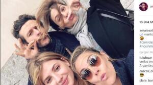 Amaia Salamanca echa de menos a sus compañeros de Velvet
