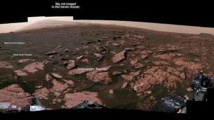 La NASA publica un video en 360º del planeta Marte