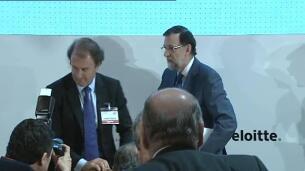 Rajoy dice que no será necesario hacer más ajustes para cumplir con el déficit de este año