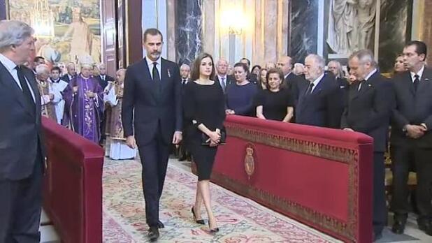 La Infanta Cristina en el Palacio Real tras cuatro años de ausencia