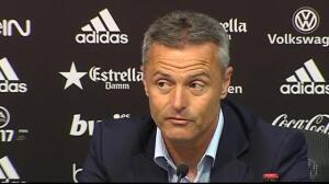 """Escribá: """"Con el grupo que hay en el Villareal todo es más fácil"""""""