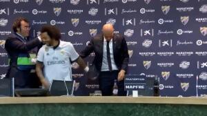 Los jugadores sabotean la rueda de prensa de Zidane