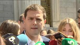 Rivera acusa al PSOE de Sánchez de