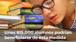 Los libros de texto serán gratuitos y de préstamo a partir del curso 2018-2019