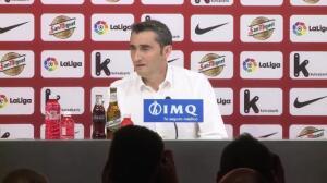Valverde se emociona al despedirse del Athletic