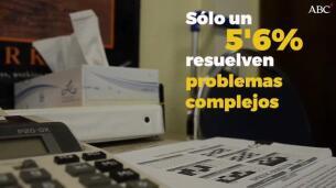 Uno de cada cuatro alumnos españoles no sabe leer una factura