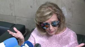 Maria Teresa Campos recibe el alta con una sonrisa