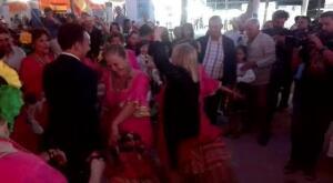 David de la Encina y Mamen Sánchez, en la Feria de El Puerto 2017