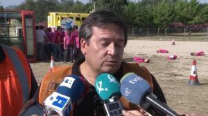 Unos 200 efectivos realizan en Mérida un simulacro aéreo