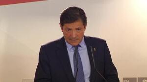 Javier Fernández renuncia a presentarse para la reelección como líder del PSOE asturiano