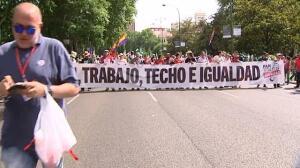 Las Marchas de la Dignidad regresan al corazón de Madrid