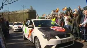 Huelga de taxis este martes en toda España