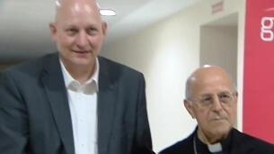 El presidente de la Conferencia Episcopal, en la presentación de un libro de una víctima de abusos