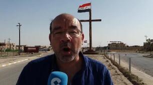 Ángel Expósito desde Qaraqosh, en Irak