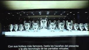 El Real Madrid presenta su exposición interactiva