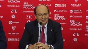 """José Castro: """"Estamos negociando con diferentes jugadores y hay un interés por Banega"""""""