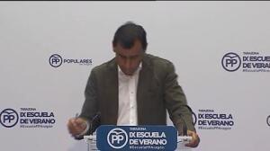 """Maillo: """"Hay dos Podemos, uno rojo y otro morado"""""""