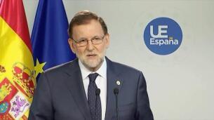 Rajoy dice que será