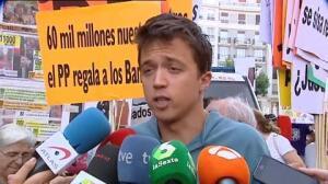 Errejón resta importancia al reclamo de más protagonismo de IU dentro de Unidos Podemos