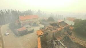 Investigación incendio Portugal